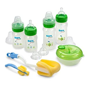 Born Free BPA-Free Decorated Bottle Gift Set