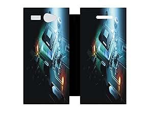 Techno Gadgets Flip Cover for Intex Aqua Young