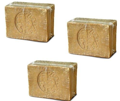 アレッポの石鹸 ノーマルタイプ 200g ×3点 シリア アレッポ 無添加 オーガニック