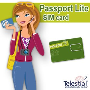 Telestial Passport Lite Dual-IMSI SIM with $5.00 Credit