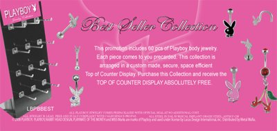 Playboy Best Seller Body Jewelry Collection
