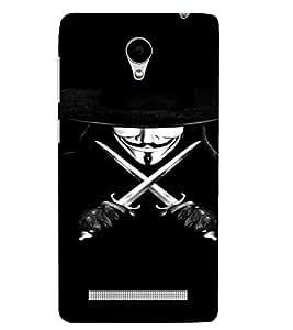 PrintVisa Vendetta Design 3D Hard Polycarbonate Designer Back Case Cover for VivoY28