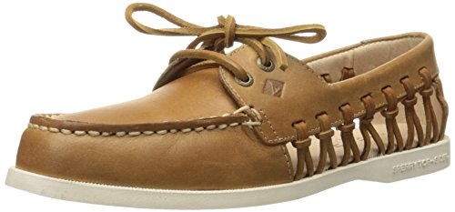 Sperry Top-Sider A/O Haven, Scarpe da Barca Donna, Marrone (Brown), 40.5 EU
