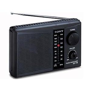 BRAND NEW! Sony ICF-18 Personal Portable 2-Band AM/FM Radio