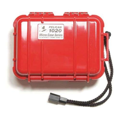 Pelican 1020 Watertight Hard Micro Case with Rubber Liner -