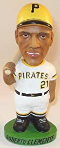 Roberto Clemente Pittsburgh Pirates AGP Bobble Dobbles Bobblehead Doll Serial... by Bobble Dobbles