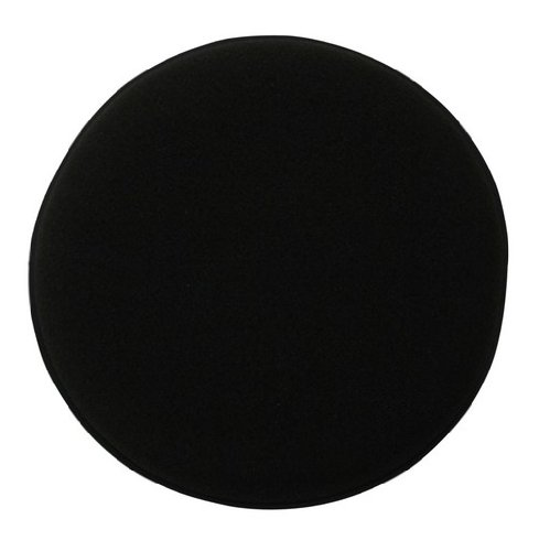 Kent Car Care Sponge Polish Applicator Pad 5-inch - Black