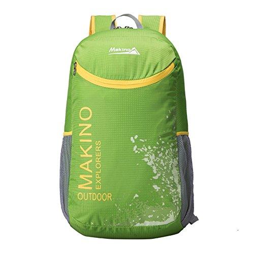 Sac d'escalade en plein air / sac à bandoulière couple ultra-léger-vert 20L