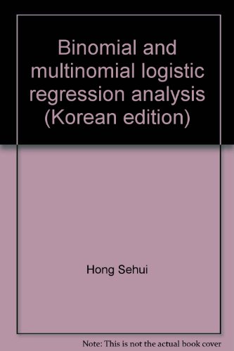 Binomial and multinomial logistic regression analysis (Korean edition) PDF