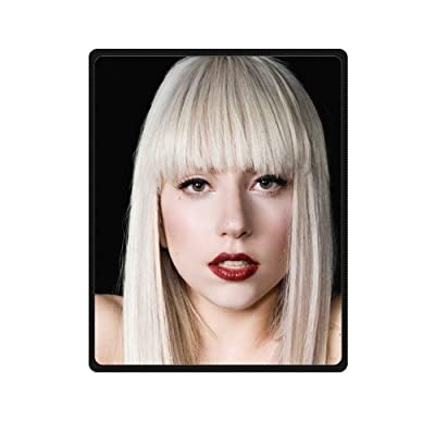 "Popular Star Lady Gaga Singer Comfortable Custom Warming Fleece Blanket Baby Indoor/Outdoor Blanket 58"" x 80"" (Large)"