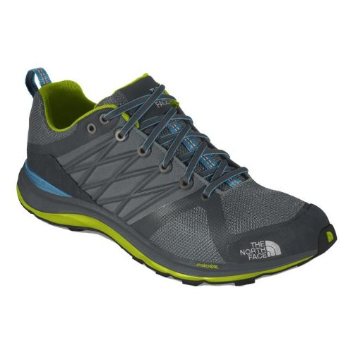 The North Face Litewave Guide Hyvent Shoe - Women'S Zinc Grey/Brilliant Blue, 9.5 front-774247