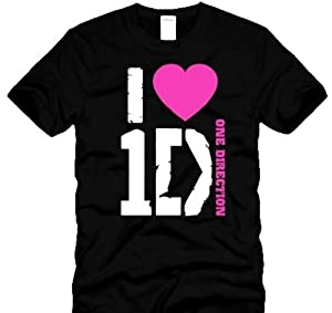 One Direction T-shirtsi Love One Direction Shirtsi Love 1d T-shirt Girls