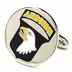 Airborne Army Screaming Eagle Cufflinks Cuff Links