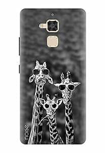 Noise Designer Printed Case / Cover for Asus ZenFone 3 Max ZC520TL / Patterns & Ethnic / Giraffes Design