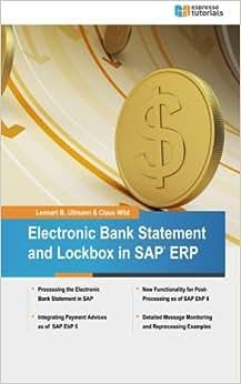 Electronic Bank Statement & Lockbox in SAP ERP e-book