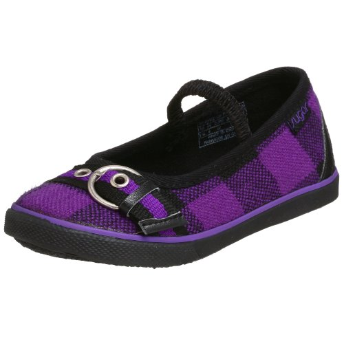 Sugar Toddler/Little Kid Smokin' Cat Flat,Purple Hunter's Plaid,9 M US Toddler