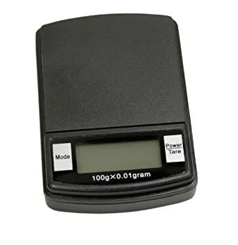 DIGITAL POCKET SCALE 100 GRAM CAPACITY X 0.01 GRAM SENSITIVITY