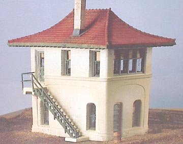 HO Scale Ashford Trainman's Tower