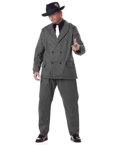 Gangster Costume - XX-Large - Chest Size 48-52