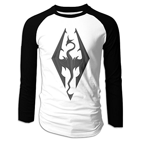 AIJFW The Elder Scrolls VSkyrim Men's Crewneck Tee L