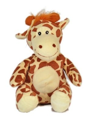 Dog Toy Squeak Plush Toy Giraffe 7″ Sitting