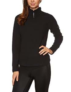 Berghaus Women's Arnside Fleece Half Zip - Black/Black, Size 8