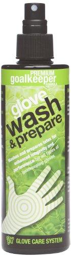 Gloveglu Men's Wash and Prepare Goalkeeper Glove - Black, 250ml