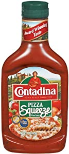 Contadina Pizza Sauce, 15-Ounce Squeeze Packages (Pack of 12)
