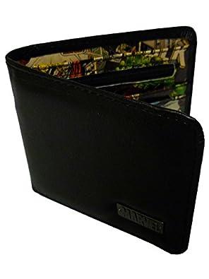 Marvel Comics Wallet (Black Outside with Retro Print Inside)