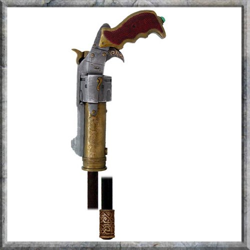 Steampunk Gentlemans Blaster Cane