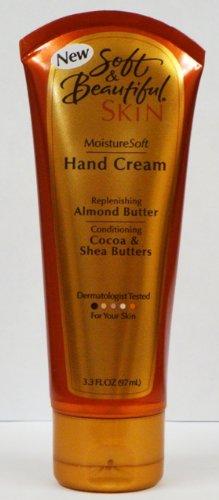 Soft and Beautiful Skin Moisture Soft Hand Cream 3 3 Oz Tubes Pack of 4