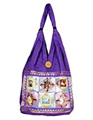 Cotton Canvas Boho Hobo Handcrafted Indian Ladies Sling Shoulder Bag