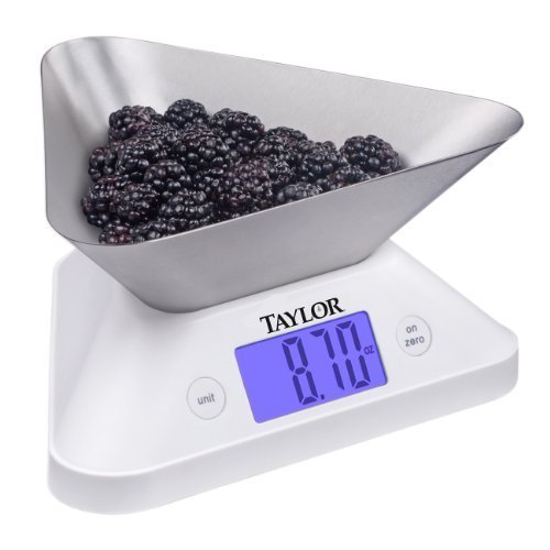 Taylor Store-n-Pour Digital Kitchen Scale by Taylor Precision Products