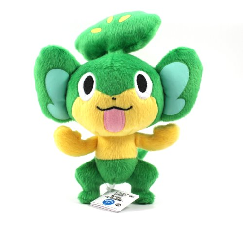 "Pokémon Best Wishes Banpresto Plush - 8"" - Yanappu/Pansage"