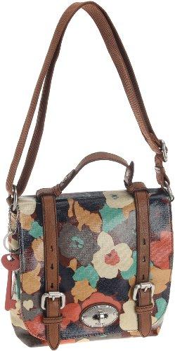 Womens Nylon Handbags FOSSIL WOMEN BAG W VINTAGE KEYPER ORGZ FLP FLORAL ZB5060919