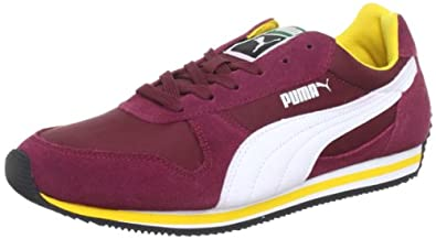 Puma Unisex - Adult Fieldsprint Low Top Red Rot (team maroon-white 05) Size: 48.5