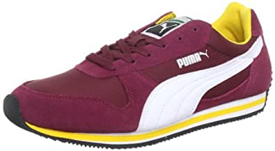 Puma Fieldsprint 354626, Unisex-Erwachsene Sneaker, Rot (team maroon-white 05), EU 41 (UK 7.5) (US 8.5)