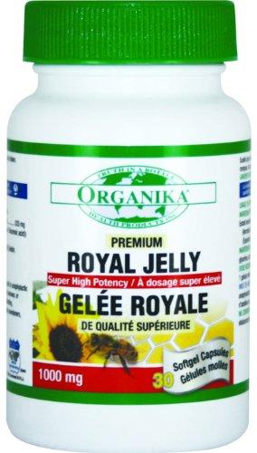 Organika Royal Jelly, 1000Mg, 30 Softgels