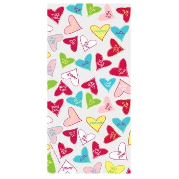 Candy Crush Valentine's Cello Candy Bags 20 Per Pack