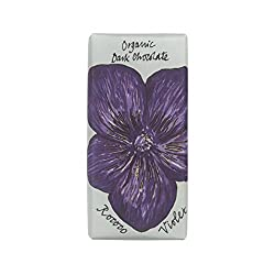 Violet Dark Chocolate Floral Bee Bar