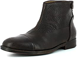 Saint G Mens Leather Formal Occasion Boots