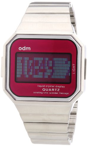 odm-mysterious-vii-unisex-quartz-watch-with-pink-dial-digital-display-and-silver-stainless-steel-str