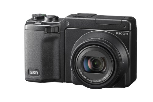 Ricoh GXR System Camera - Black (10x Optical Zoom, Full HD Video) 3 inch LCD