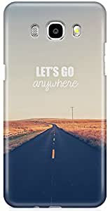 Samsung Galaxy J7 2016 Back Cover by Vcrome,Premium Quality Designer Printed Lightweight Slim Fit Matte Finish Hard Case Back Cover for Samsung Galaxy J7 2016