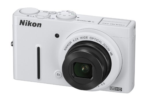Nikon COOLPIX P310 Compact Digital Camera - White (16.1MP, 4.2x Optical Zoom) 3 inch LCD