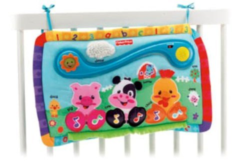 Fisher Price Crib Toys : Order fisher price kick and play piano
