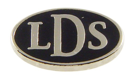 LDS Mens Stainless Steel Silver Finish LDS Latter Day Saints Allegro Tie Tac / Tie Pin for Boys - LDS Missionary Gift, Baptism Gift