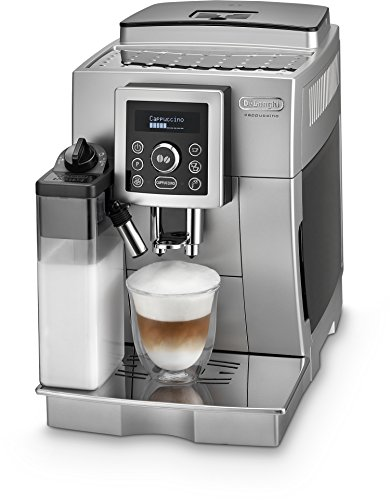 DeLonghi One Touch ECAM 23.466.S Kaffeevollautomat (Milchbehälter) silber thumbnail
