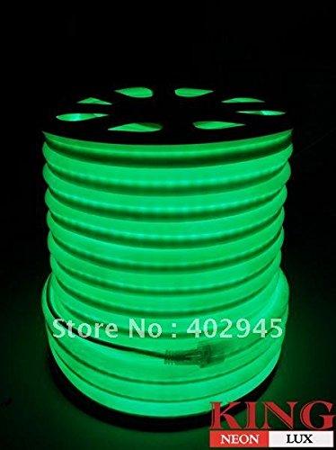 Led Neon Flex Green Led Soft Neon Light Led Flexible Neon Strip Led Neon Rope Lights 240V Dhl Express Shipping