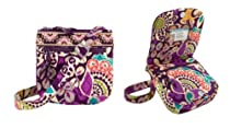 Vera Bradley Little Flap Hipster in Plum Crazy